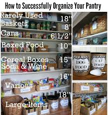tips and ideas for organizing your pantry