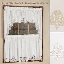 kitchen tier curtains decoration black kitchen curtain set white kitchen window