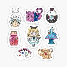 Alice's 5 worst and 5 best traits Kawaii Alice Wonderland Characters Gifts Merchandise Redbubble