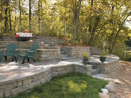 image gallery highland stone 6 retaining wall system