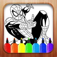 Thousands of free online drawings. Learn Spiderman Coloring By Fans For Android Apk Download