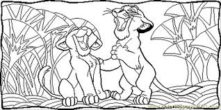 Small Picture Simba And Nala Coloring Page Free The Lion King Coloring Pages