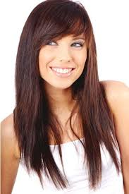 Straight Layered Hairstyles For Teenage