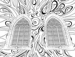 Small Picture Adult Coloring Pages Catholic Church Windows Adult Coloring