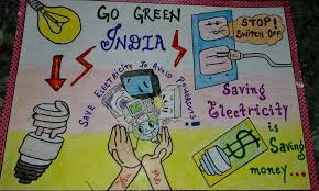 Save Electricity Chart Poster On Save Electricity In 2019 Energy Conservation