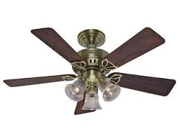 hunter beacon hill series antique brass hf24904 42 ceiling fan