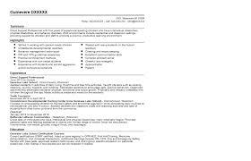 autism resume. resume for direct support professional ...