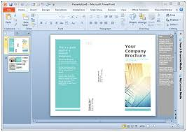 Design For Powerpoint 2013 Designing Brochures In Powerpoint 2013 Smiletemplates Com
