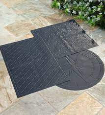 Flame Resistant Up To 600 This Heavy Duty Safety Mat Is A Smart Easy Way To Keep Any Surface Safe From Ex Deck Fire Pit Fire Pit Deck Protector Fire Pit Mat