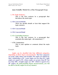 jane schaffer model for a one paragraph essay by hxi76773 jane schaffer model for a one paragraph essay by hxi76773