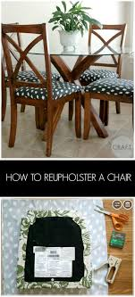 how to reupholster a chair creating really awesome fun things craft crafty and upholstery