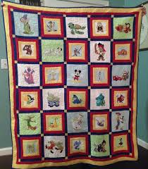 Disney quilt I made using applique patterns that I downloaded to ... & Disney quilt I made using applique patterns that I downloaded to my Brother  embroidery machine. Adamdwight.com