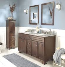grey walls with brown furniture. blue and brown bathroom sets grey gray mat small mirror walls with furniture