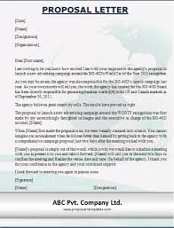 Commercial Proposal Format Enchanting Business Proposal Letter Sample Doc Lezincdc