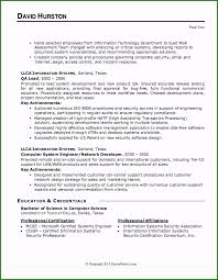 Excellent It Security Resume Template That Get Interviews