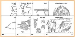 When i was a kid i colored it most of all. Free Anglo Saxons Colouring Sheets Teacher Made