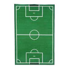 football field rug soccer fun time sports area