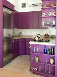 Full Image for High Gloss Purple Kitchen Cabinets Purple Gloss Kitchen  Cabinets Purple Kitchen Cabinets For