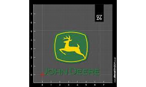 John Deere Logo Sticker