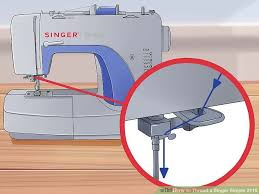 How To Use A Singer Sewing Machine Simple