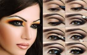 making of smokey eyes makeup