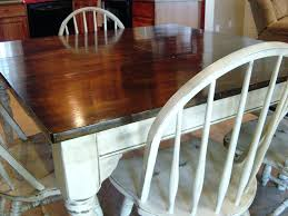 chalk painted kitchen tables refinish furniture with chalk paint kitchen table veneer refinishing and chairs ideas