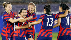 The united states women's national soccer team (uswnt) represents the united states in international women's soccer.the team is the most successful in international women's soccer, winning four women's world cup titles (1991, 1999, 2015, and 2019), four olympic gold medals (1996, 2004, 2008, and 2012), and eight concacaf gold cups. Tokyo Olympics How To Watch Women S Soccer What To Watch