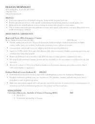 Registered Nurse Resume Example Adorable Resume For Nurses Free Sample As Well As Nurses Resume Format