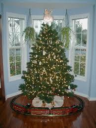 i think tucker would love a train around the tree