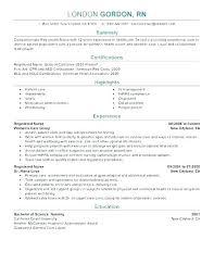 Rn New Grad Cover Letter Example Of Nursing Cover Letter New
