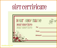certificate template pages gift certificate template pages awesome prize voucher template