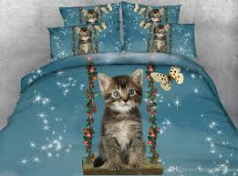 cat duvet cover twin girls erfly