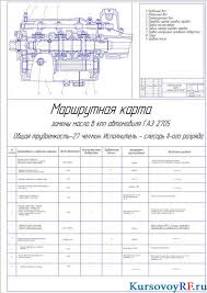 Курсовой проект по технической эксплуатации ремонту и  Чертеж производственного плана Чертеж технологической карты замены масла в КПП