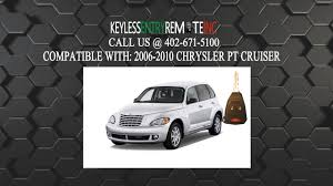 2006 Pt Cruiser Battery Light On How To Replace A 2006 2010 Chrysler Pt Cruiser Key Fob Battery Fcc Id Oht692427aa