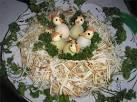 Рецепты салатов перепелиное гнездо