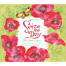 seize the day 2018 desk calendar