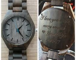 mens wrist watch engraved mens watch personalized mens personalized engraved wood watch wooden watch valentines day fathers day christmas gift groomsmen gifts anniversary gift mens gift
