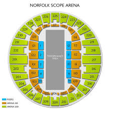 Norfolk Scope Seating Chart For Wwe Virginia International Tattoo Norfolk Tickets 5 3 2020 2