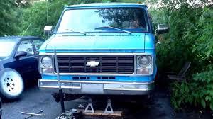 Camera shy Chevy Van G10 - YouTube