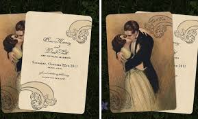 vintage wedding invitations by go go snap Wedding Invitations Vintage Style Uk go go snap wedding invitations retro, vintage and oozing style cheap vintage style wedding invitations uk