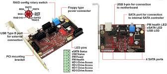 addonics product 4x1 hardware port multiplier system version 4x1 esata usb hardware pm system version ad4sr5hpmus