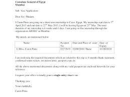 Resume Address Format Visa Covering Letter Format Cover Letter
