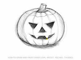 pumpkin drawing with shading. pin drawn pumpkin shading #4 drawing with s