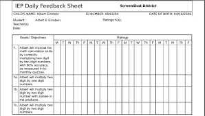 skills tracking sheet free printable iep goal tracking sheets download them or print