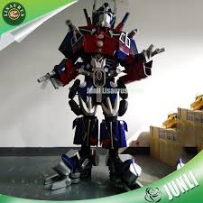 superhero optimus prime cosplay robot costume for
