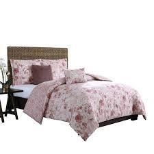 Accents 3 Piece Full Queen Bedding Set White Fleur De Lis ...