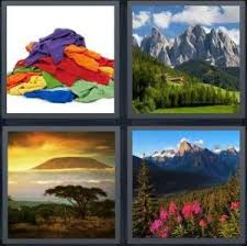 Word Of Nature 4 Pics 1 Word Answer For Laundry Nature Desert Idyllic Heavy Com