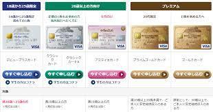 クレジット カード 年齢