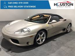 Prices for ferrari 458 italia s currently range from $209,998 to $239,995, with vehicle mileage ranging from 6,250 to 28,318. Used Ferrari 360 Spider For Sale With Photos Cargurus