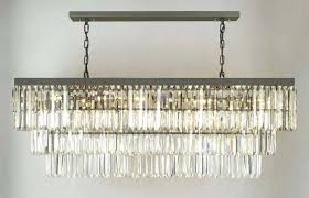 full size of rectangular crystal chandelier dining room medium size of dinning prism rectangle home depot